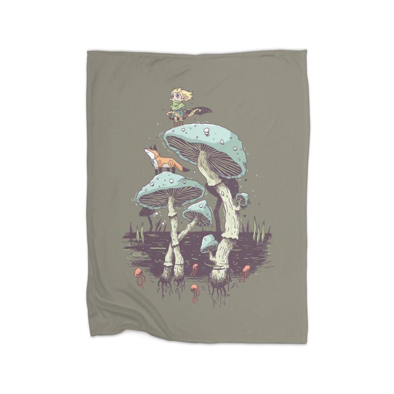 Elven Ranger Home Blanket by Freeminds's Artist Shop