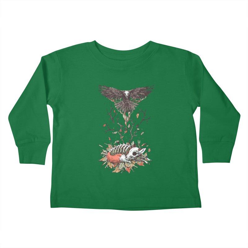 Eternal Sleep Kids Toddler Longsleeve T-Shirt by Freeminds's Artist Shop