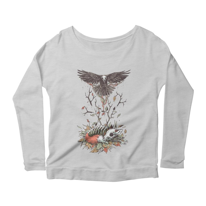 Eternal Sleep Women's Longsleeve Scoopneck  by Freeminds's Artist Shop