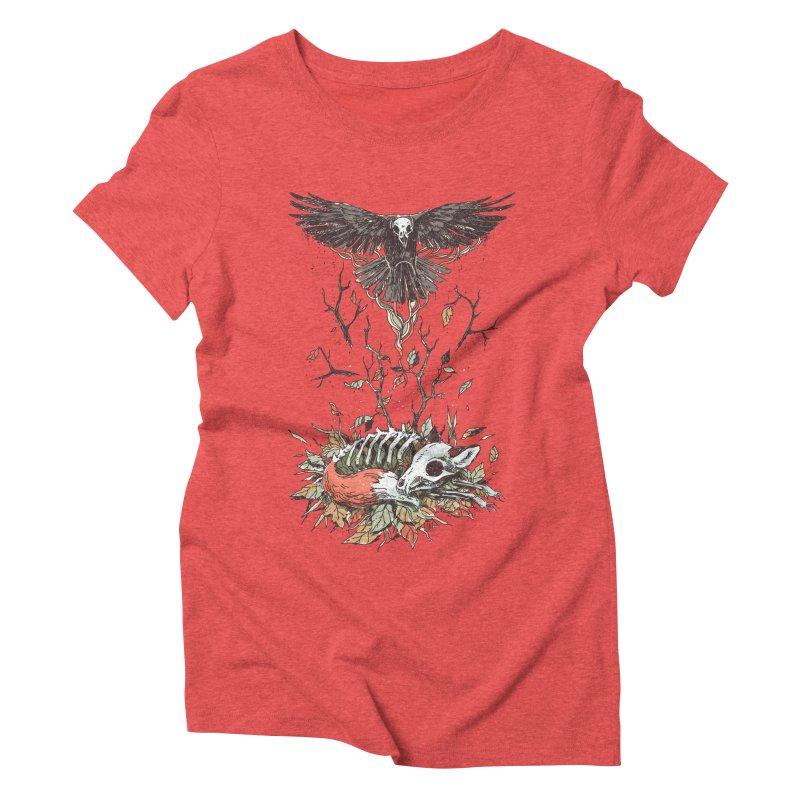 Eternal Sleep Women's Triblend T-shirt by Freeminds's Artist Shop