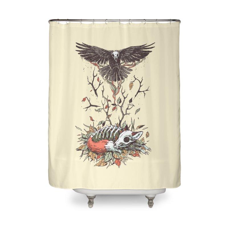Eternal Sleep Home Shower Curtain by Freeminds's Artist Shop