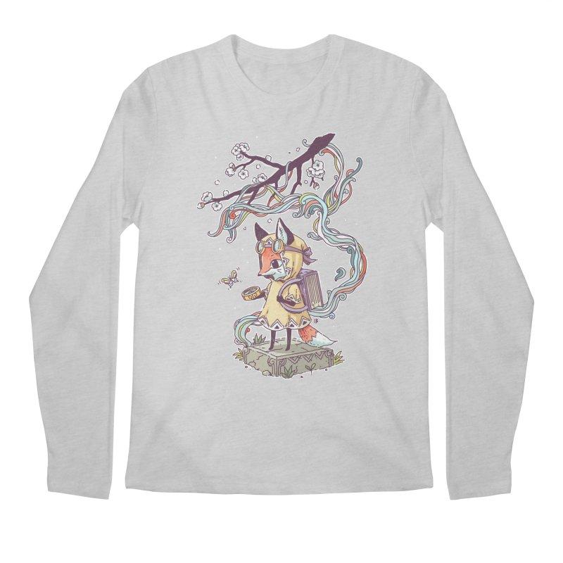 Little Explorer Men's Longsleeve T-Shirt by Freeminds's Artist Shop