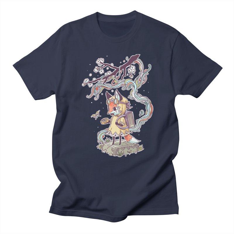 Little Explorer Men's T-shirt by Freeminds's Artist Shop