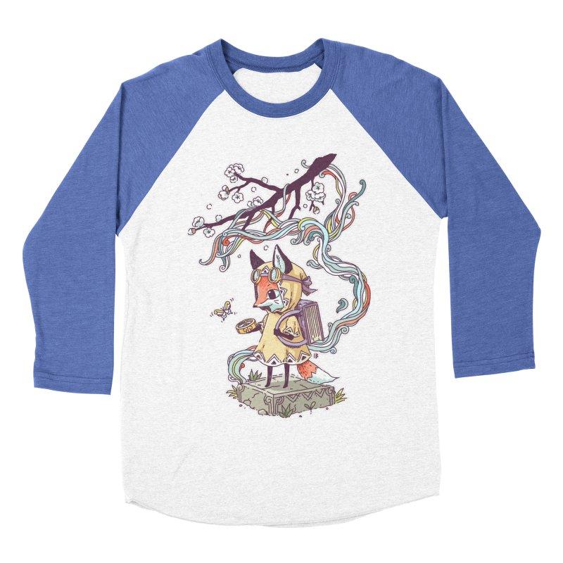 Little Explorer Women's Baseball Triblend T-Shirt by Freeminds's Artist Shop