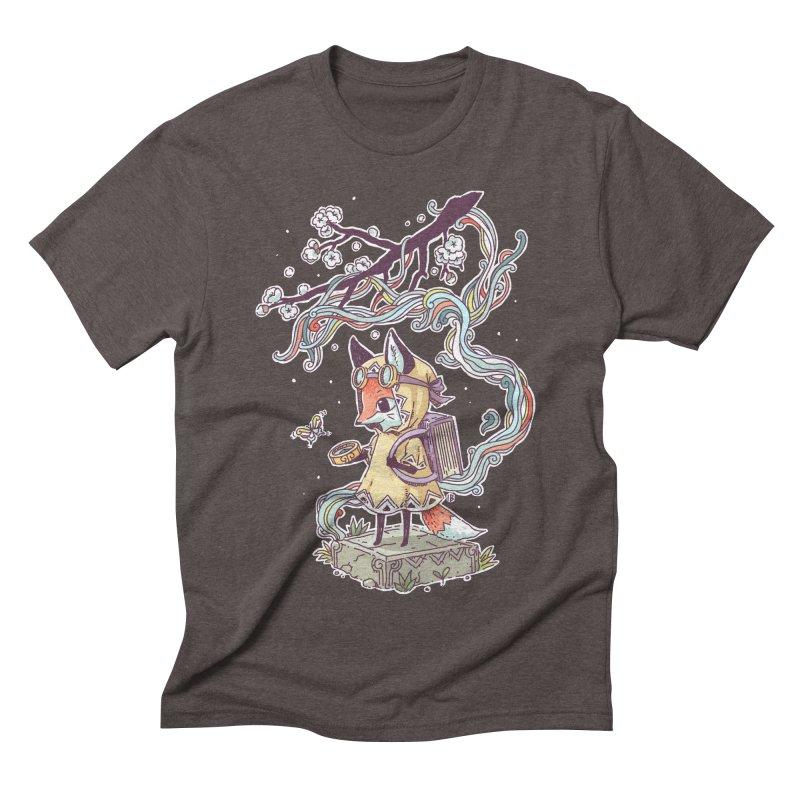 Little Explorer Men's Triblend T-shirt by Freeminds's Artist Shop