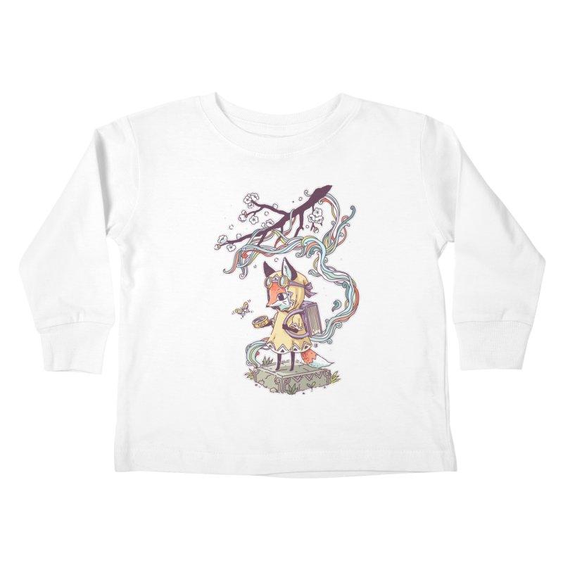 Little Explorer Kids Toddler Longsleeve T-Shirt by Freeminds's Artist Shop