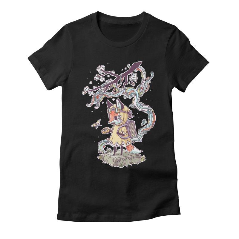 Little Explorer Women's Fitted T-Shirt by Freeminds's Artist Shop