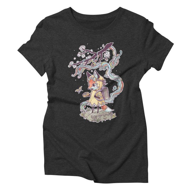 Little Explorer Women's Triblend T-shirt by Freeminds's Artist Shop