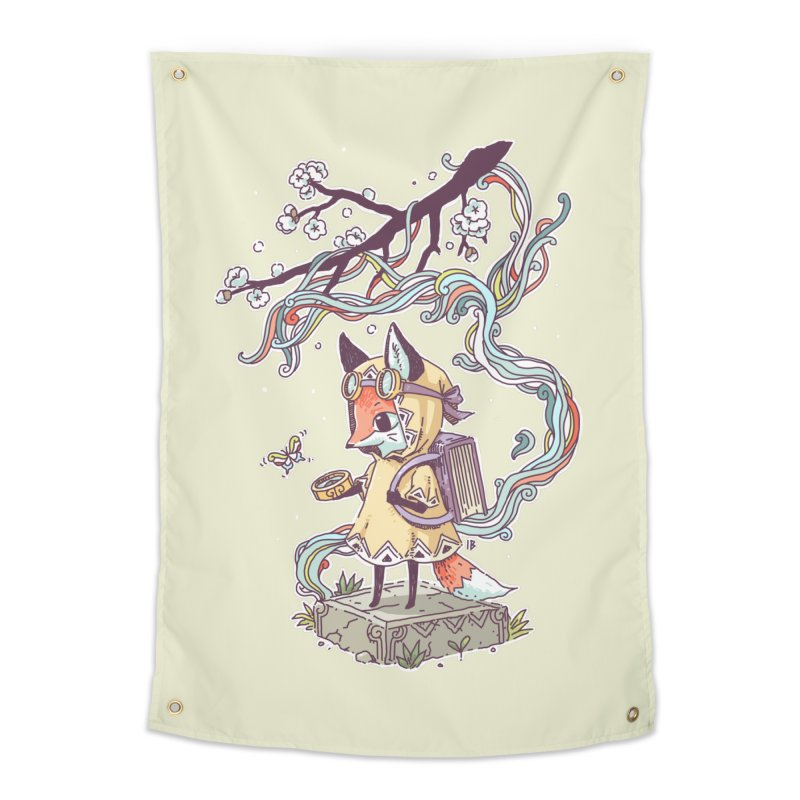 Little Explorer Home Tapestry by Freeminds's Artist Shop