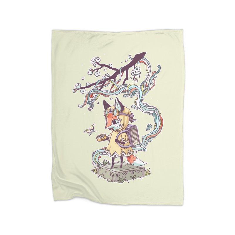 Little Explorer Home Blanket by Freeminds's Artist Shop