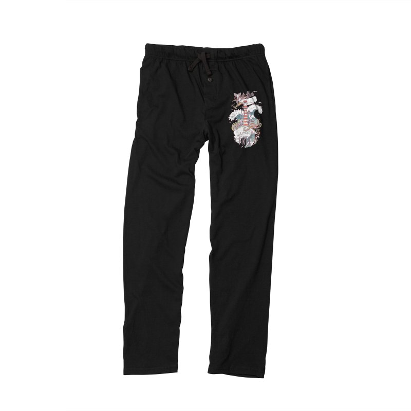 Whales and Waves Women's Lounge Pants by Freeminds