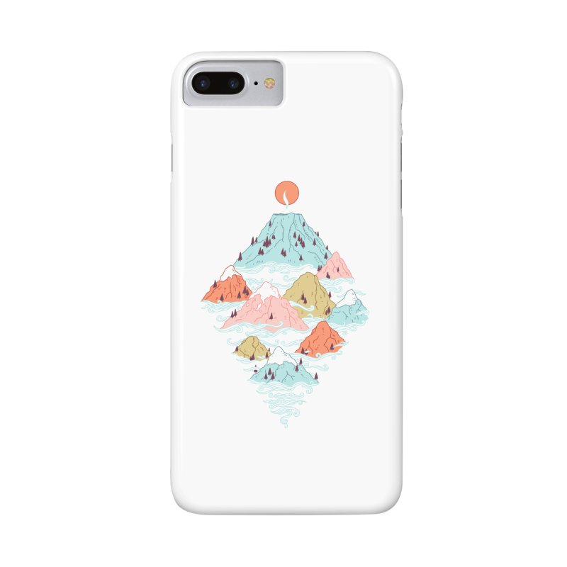 Misty Mountains Accessories Phone Case by Freeminds