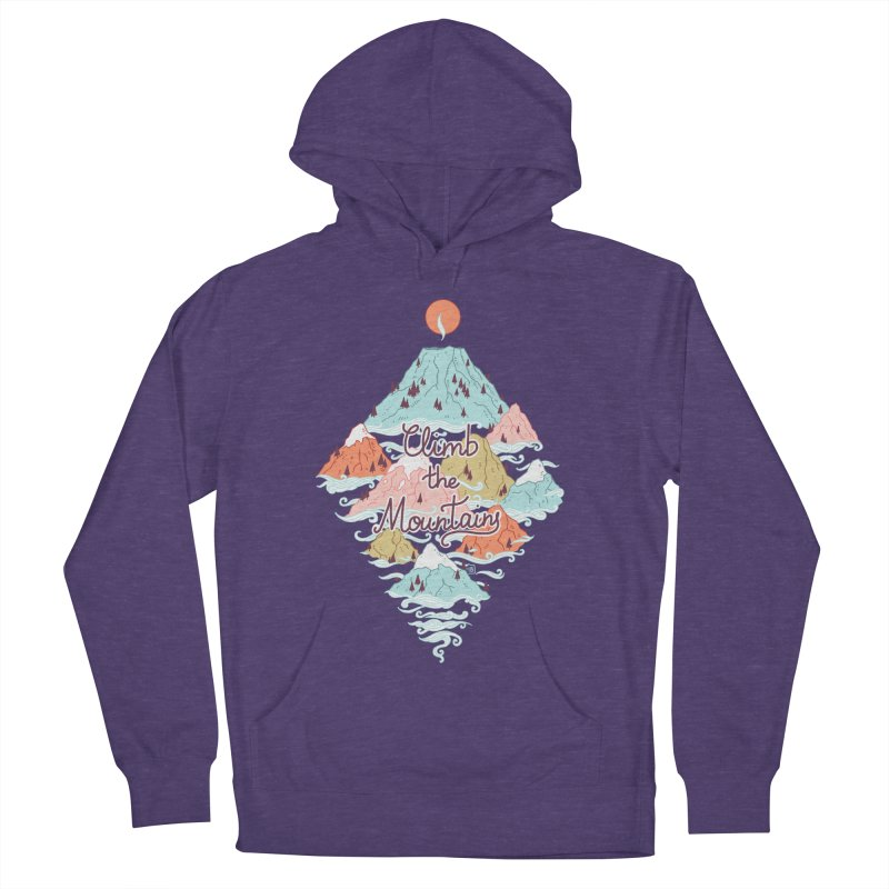 Misty Mountains Men's Pullover Hoody by Freeminds's Artist Shop