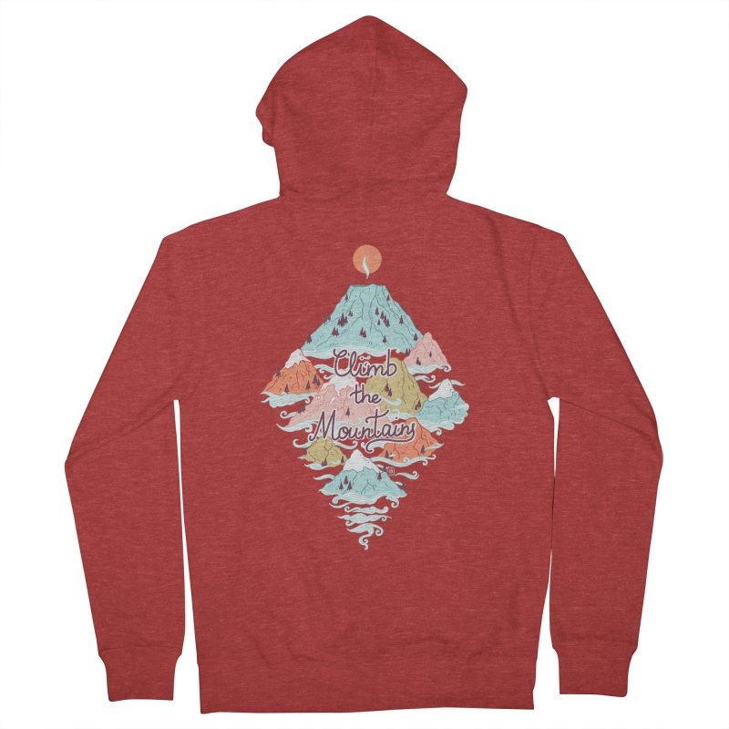 Misty Mountains Women's Zip-Up Hoody by Freeminds