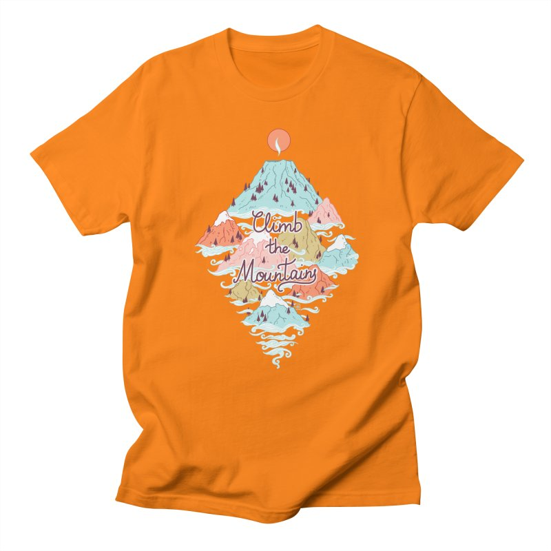 Misty Mountains Women's Unisex T-Shirt by Freeminds