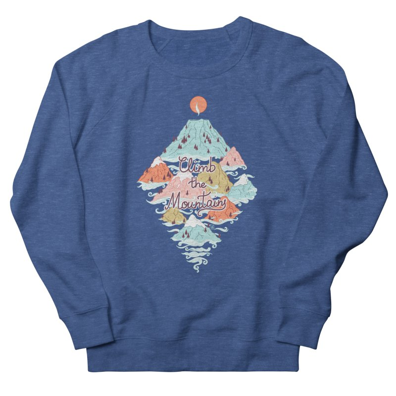 Misty Mountains Women's Sweatshirt by Freeminds