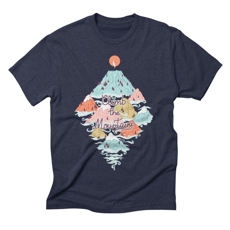 Misty Mountains Men's Triblend T-shirt by Freeminds's Artist Shop