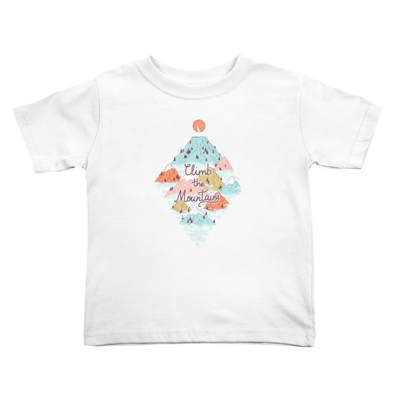 Misty Mountains Kids Toddler T-Shirt by Freeminds's Artist Shop