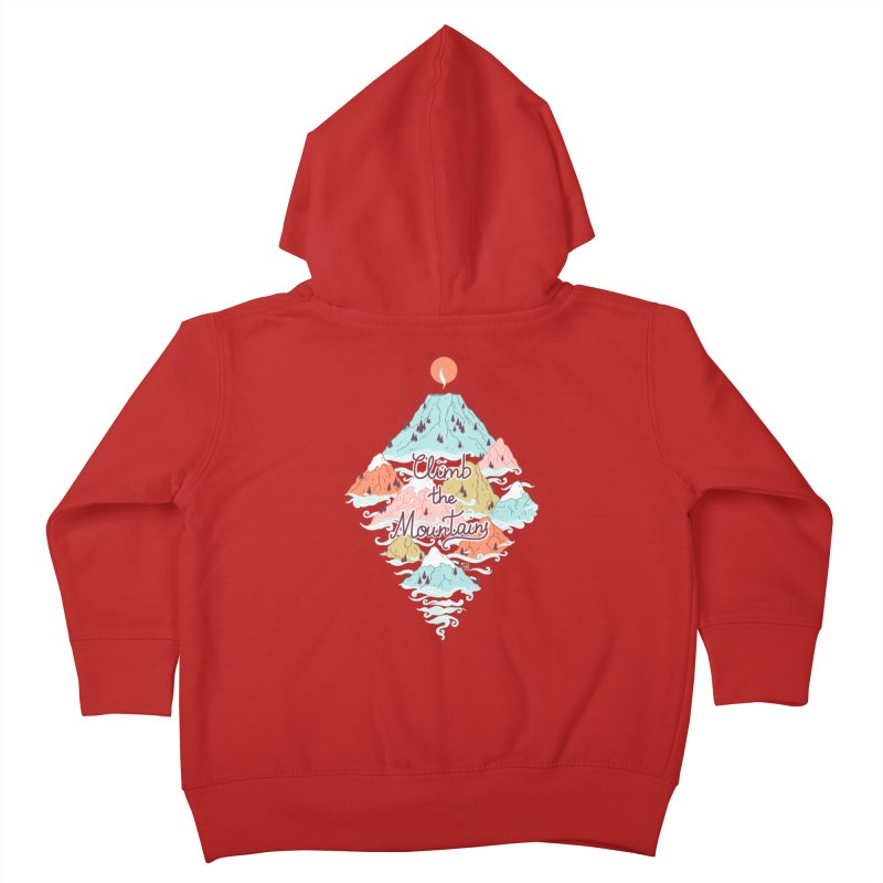 Misty Mountains Kids Toddler Zip-Up Hoody by Freeminds