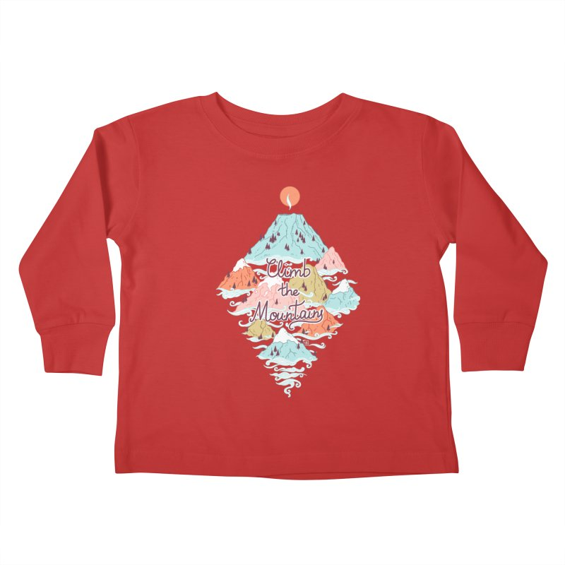 Misty Mountains Kids Toddler Longsleeve T-Shirt by Freeminds