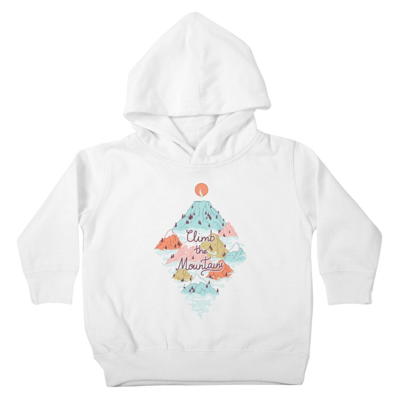 Misty Mountains Kids Toddler Pullover Hoody by Freeminds