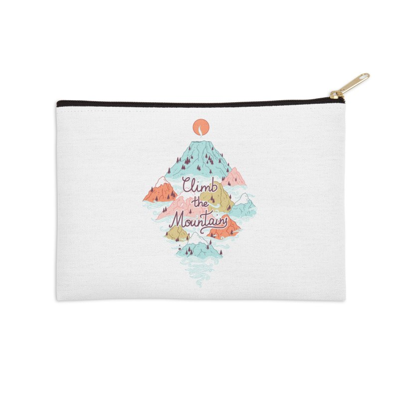Misty Mountains Accessories Zip Pouch by Freeminds