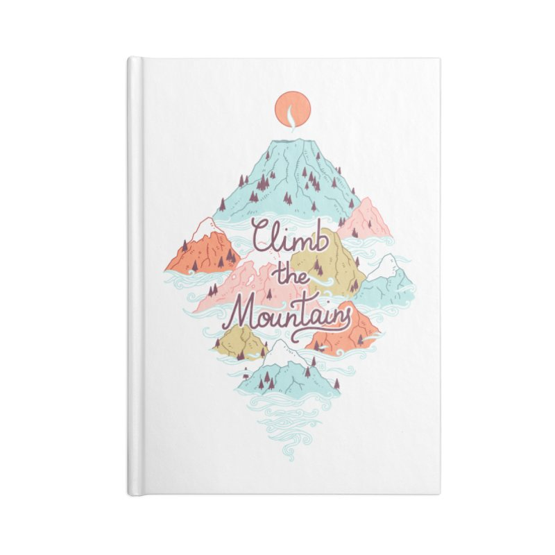 Misty Mountains Accessories Notebook by Freeminds