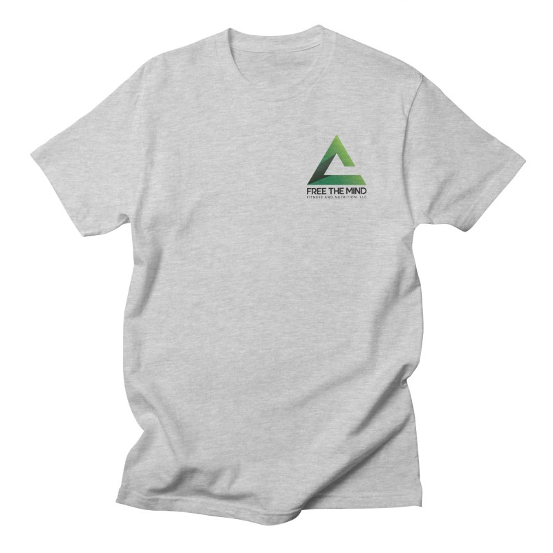 Stacked Logo-Small Women's T-Shirt by Free the Mind Fitness Shop