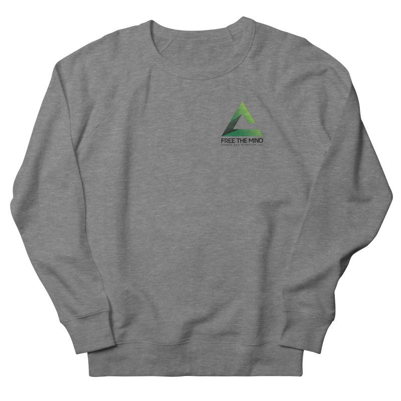 Stacked Logo-Small Men's Sweatshirt by Free the Mind Fitness Shop