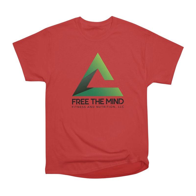 Free the Mind (Stacked) Men's T-Shirt by Free the Mind Fitness Shop