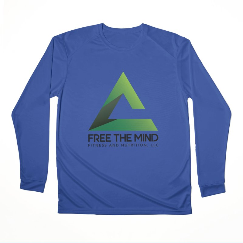 Free the Mind (Stacked) Men's Longsleeve T-Shirt by Free the Mind Fitness Shop