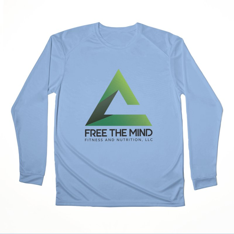 Free the Mind (Stacked) Women's Longsleeve T-Shirt by Free the Mind Fitness Shop