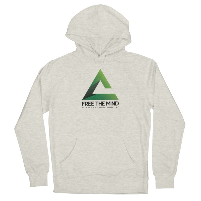 Free the Mind (Stacked) Men's Pullover Hoody by Free the Mind Fitness Shop