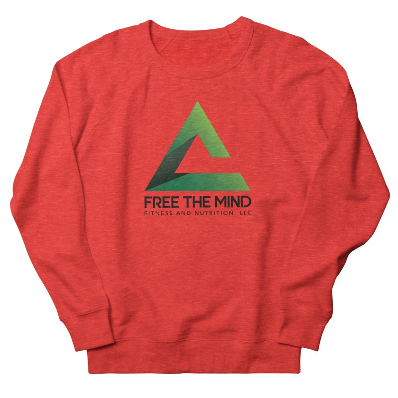 Free the Mind (Stacked) Men's Sweatshirt by Free the Mind Fitness Shop