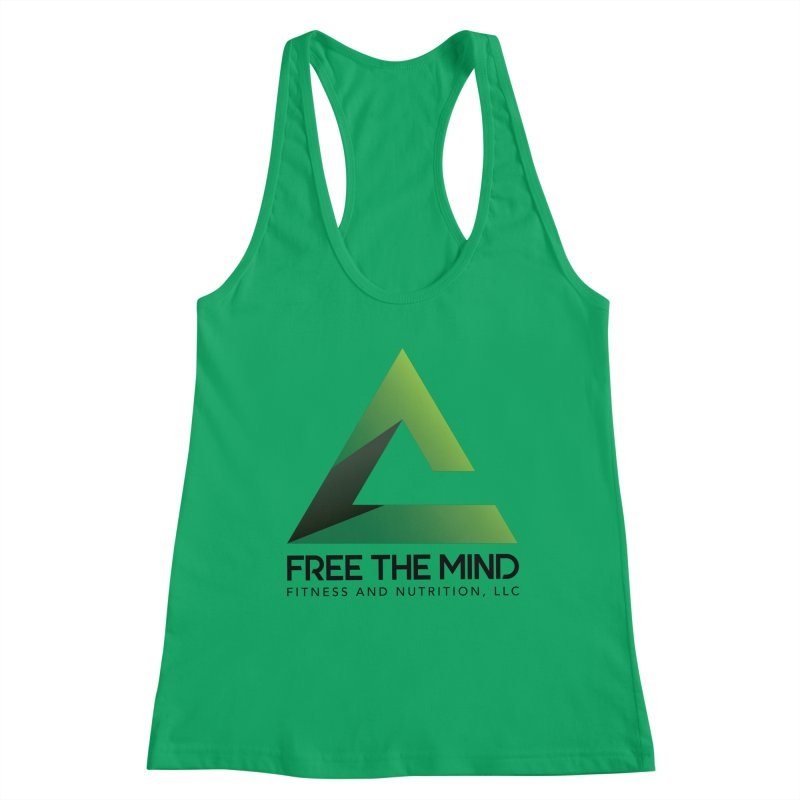 Free the Mind (Stacked) Women's Tank by Free the Mind Fitness Shop