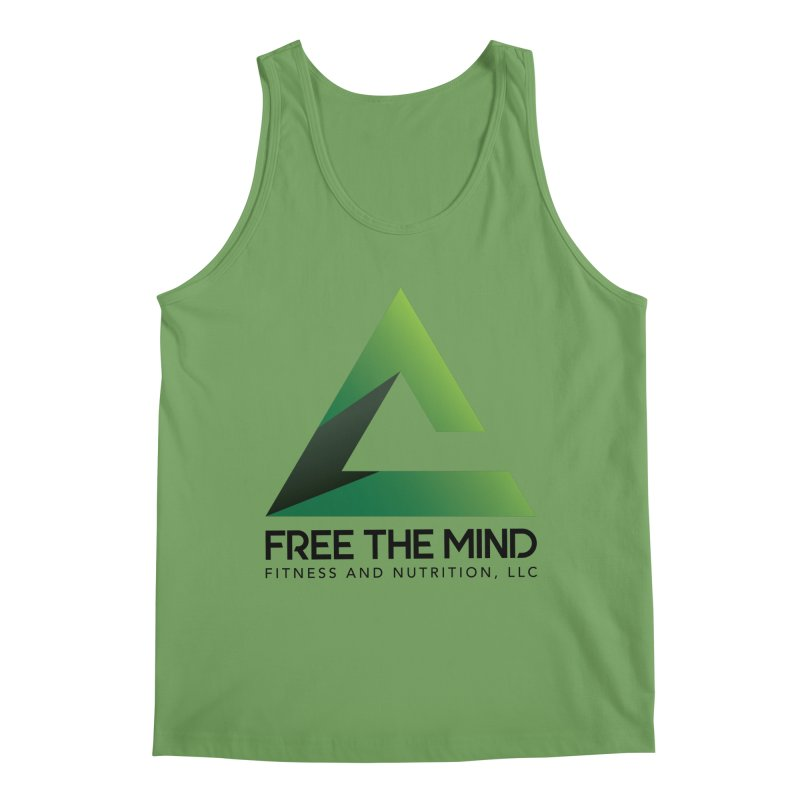 Free the Mind (Stacked) Men's Tank by Free the Mind Fitness Shop