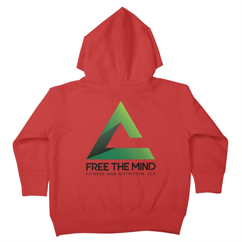 Free the Mind (Stacked) Kids Toddler Zip-Up Hoody by Free the Mind Fitness Shop