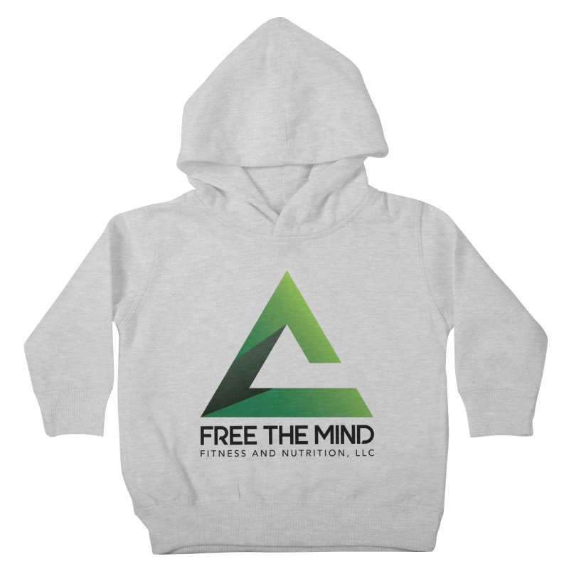 Free the Mind (Stacked) Kids Toddler Pullover Hoody by Free the Mind Fitness Shop