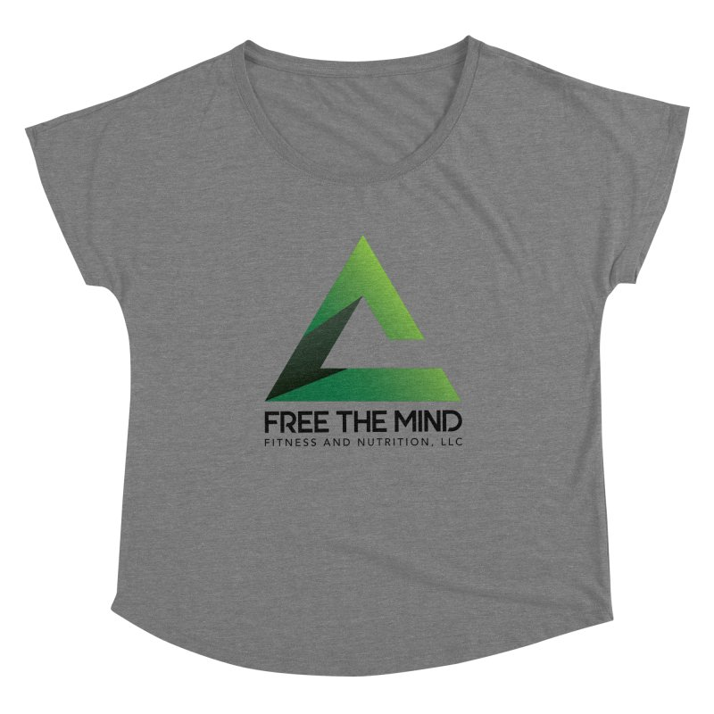 Free the Mind (Stacked) Women's Scoop Neck by Free the Mind Fitness Shop