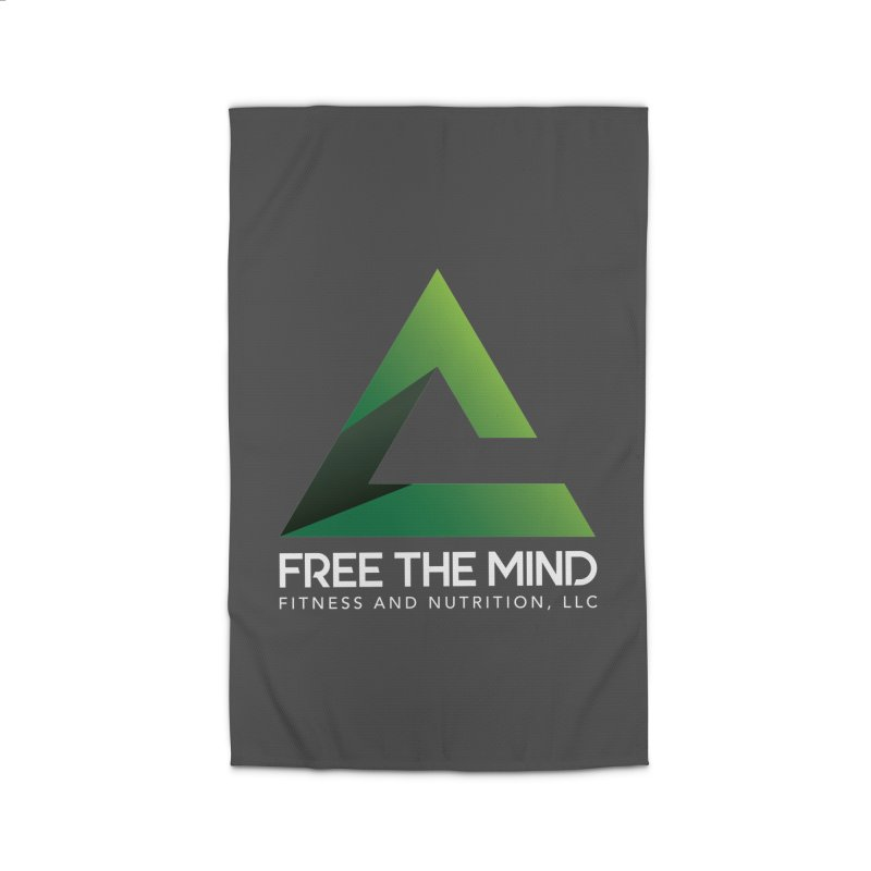 Free the Mind (Stacked, White) Home Rug by Free the Mind Fitness Shop