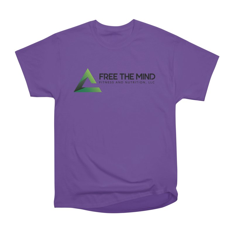 Free the Mind (Horizontal) Men's T-Shirt by Free the Mind Fitness Shop