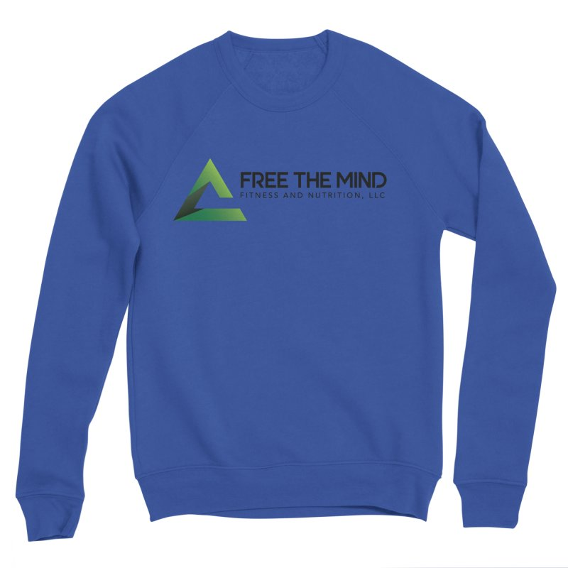 Free the Mind (Horizontal) Men's Sweatshirt by Free the Mind Fitness Shop
