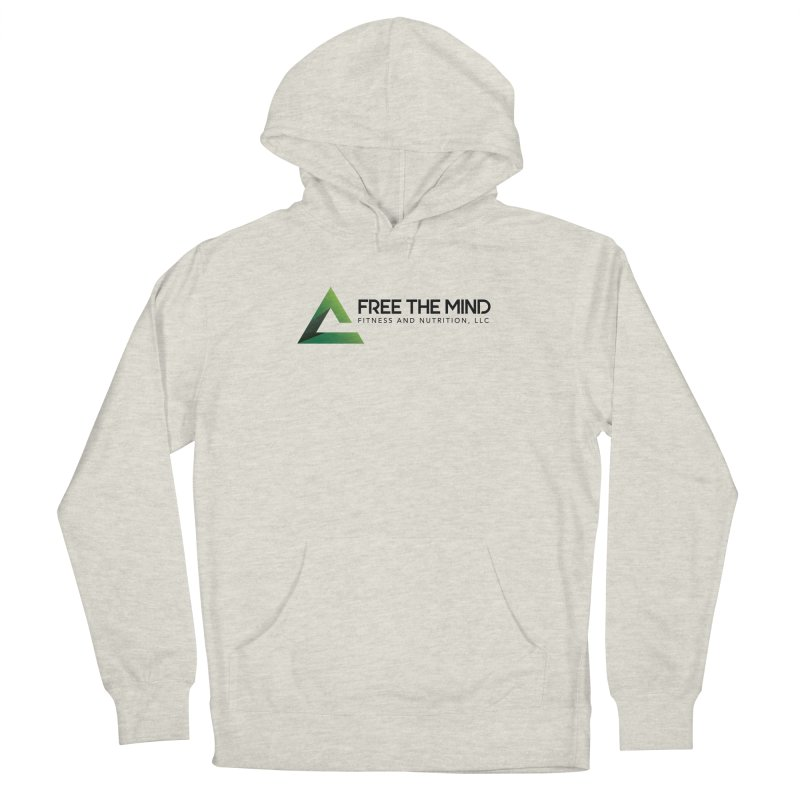 Free the Mind (Horizontal) Men's Pullover Hoody by Free the Mind Fitness Shop