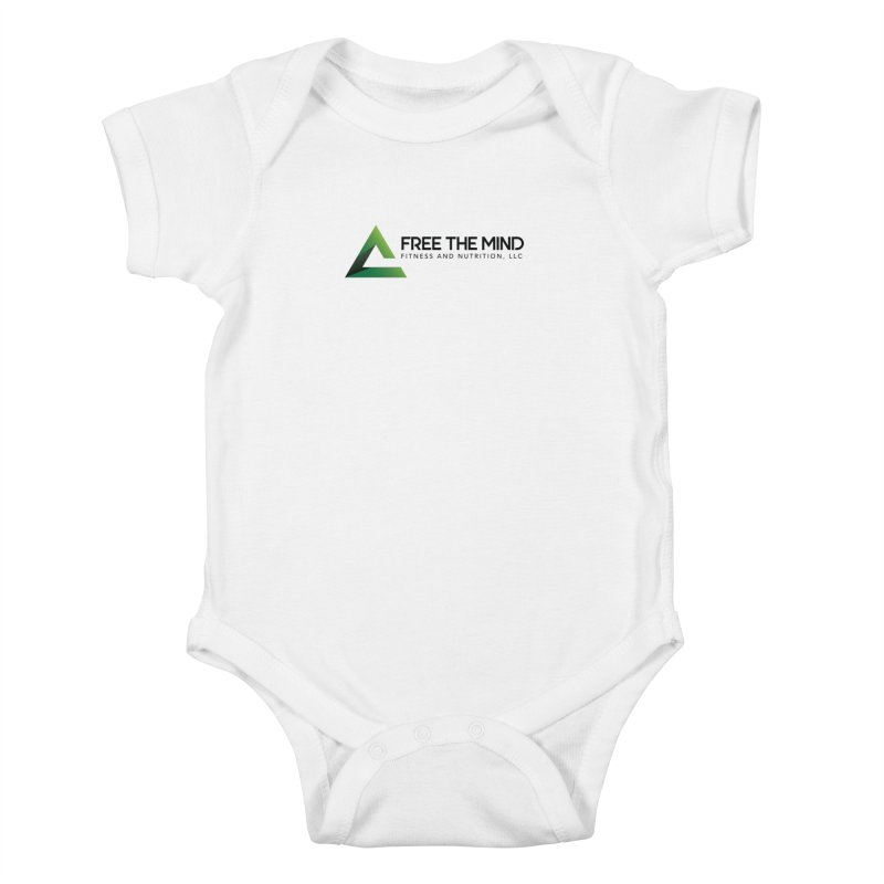 Free the Mind (Horizontal) Kids Baby Bodysuit by Free the Mind Fitness Shop