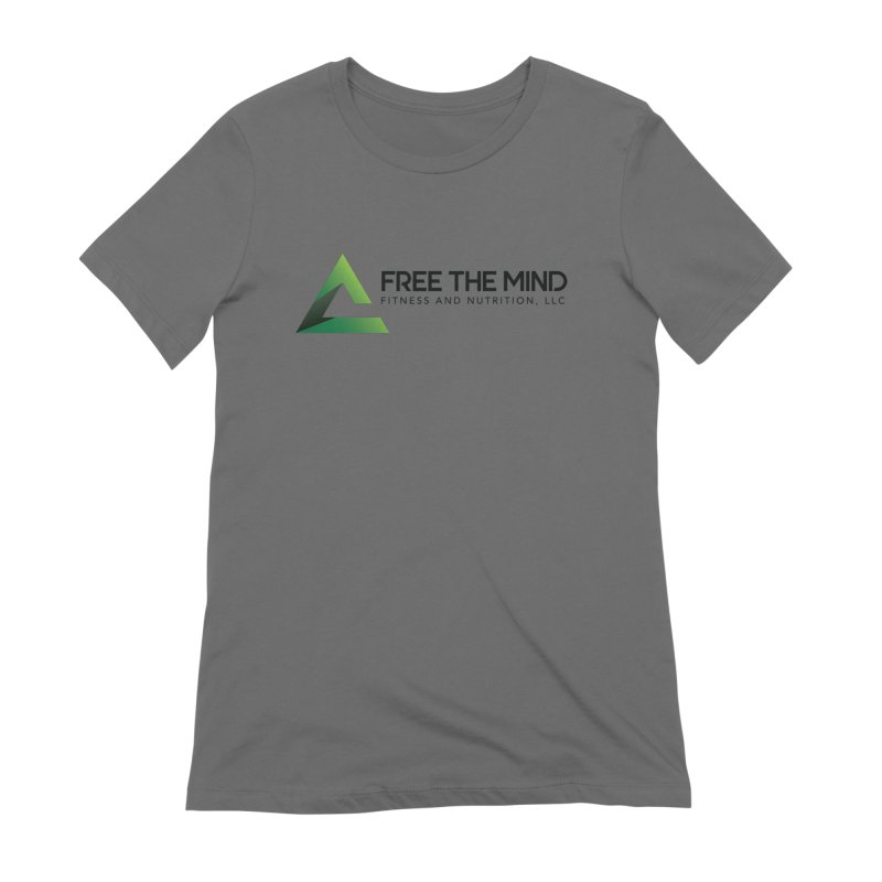 Free the Mind (Horizontal) Women's T-Shirt by Free the Mind Fitness Shop