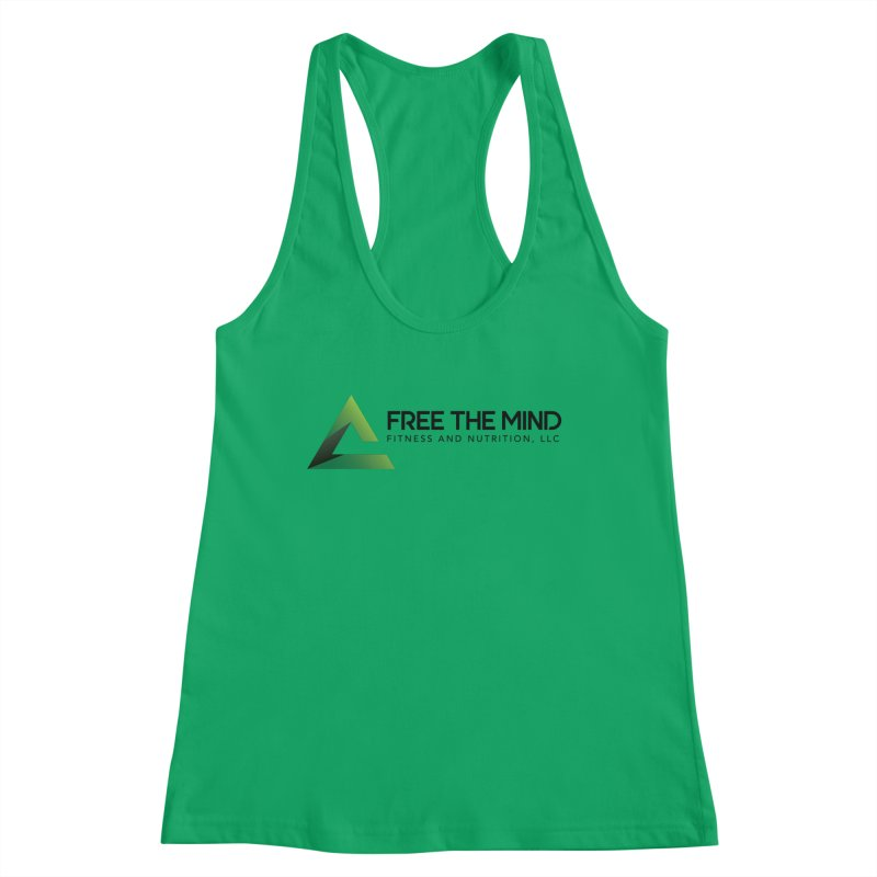 Free the Mind (Horizontal) Women's Tank by Free the Mind Fitness Shop