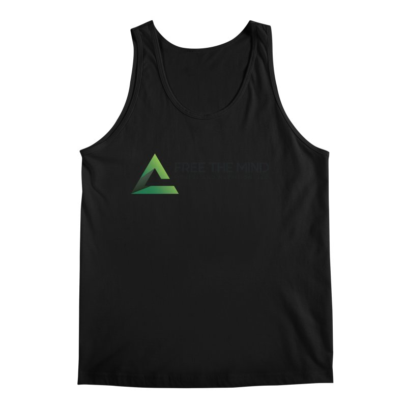 Free the Mind (Horizontal) Men's Tank by Free the Mind Fitness Shop