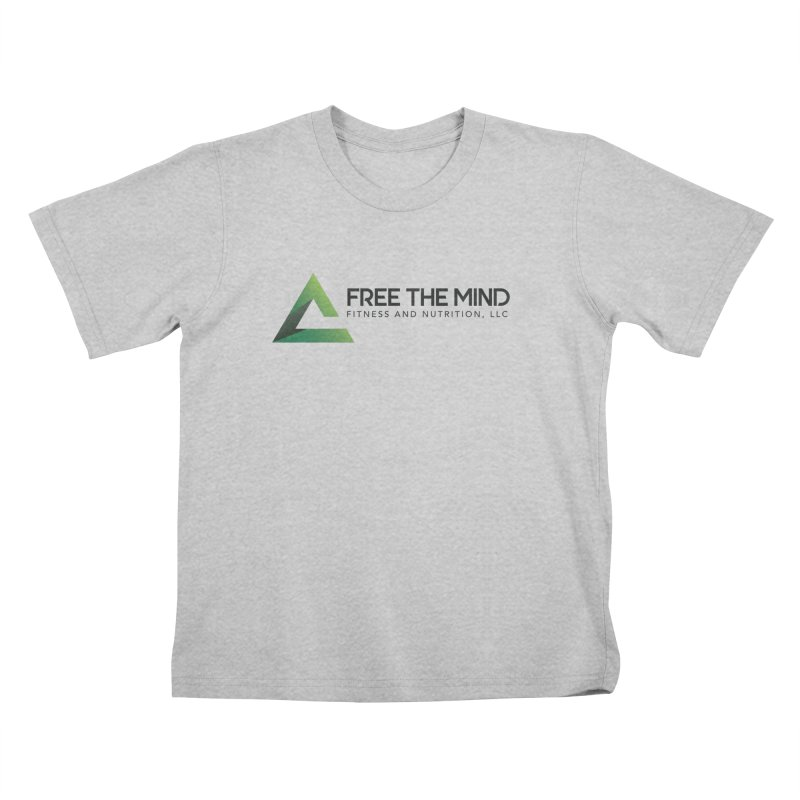 Free the Mind (Horizontal) Kids T-Shirt by Free the Mind Fitness Shop