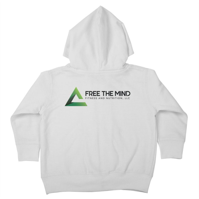 Free the Mind (Horizontal) Kids Toddler Zip-Up Hoody by Free the Mind Fitness Shop