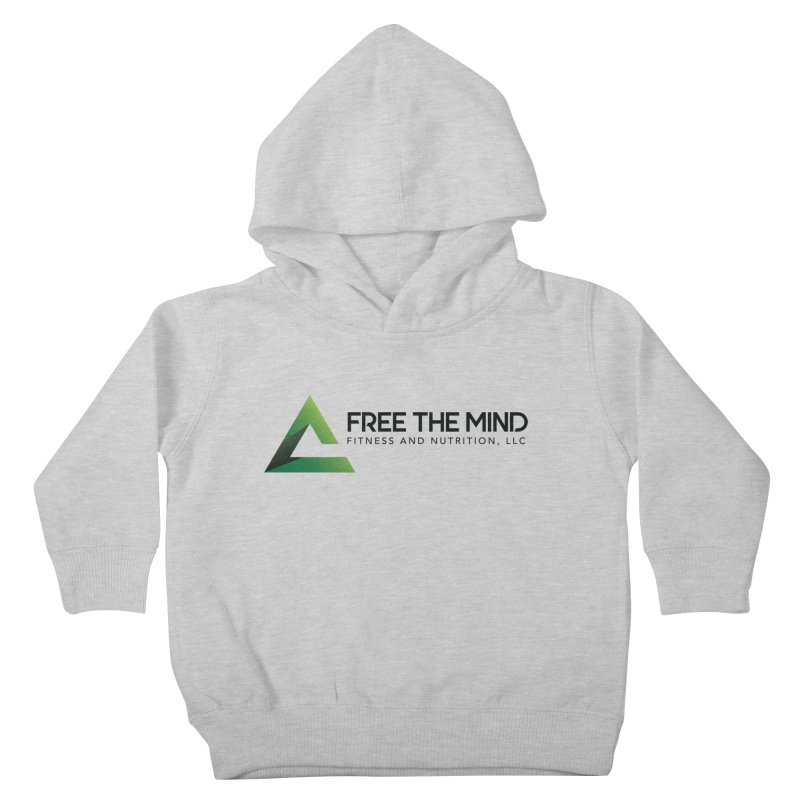 Free the Mind (Horizontal) Kids Toddler Pullover Hoody by Free the Mind Fitness Shop